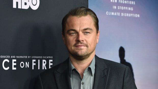 Leonardo DiCaprio blijf vechten voor klimaat