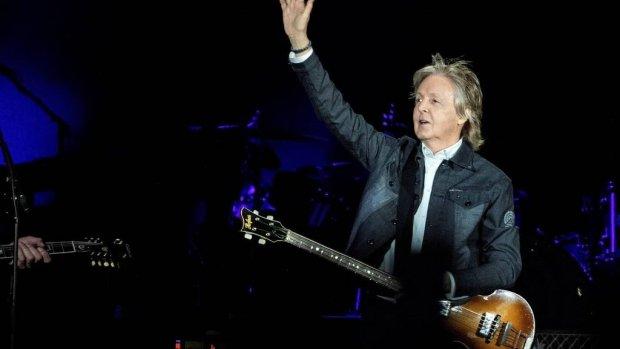 Paul McCartney en Ringo Starr doen mini-reünie
