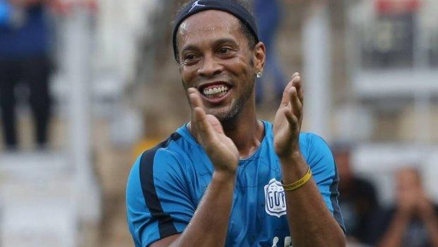 Nederlander maakt een serie met Ronaldinho
