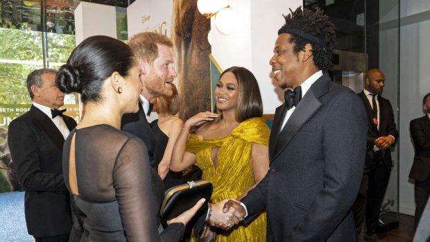 Kritiek op Beyoncé om 'uitblinken' Meghan Markle