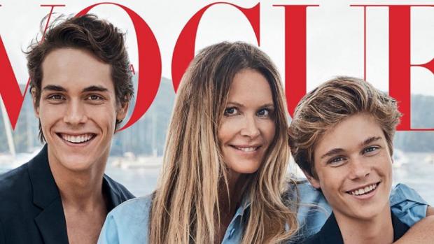 Dit zijn de knappe zoons van supermodel Elle Macpherson