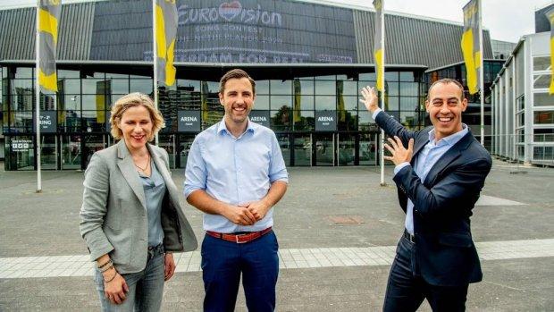 'Songfestival past heel erg bij Rotterdam'