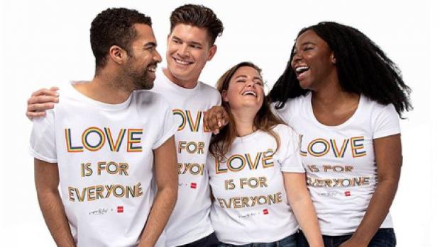 Viktor & Rolf ontwerpen Pride-shirts voor HEMA