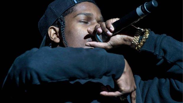 A$AP Rocky blijft nog vastzitten in Zweden