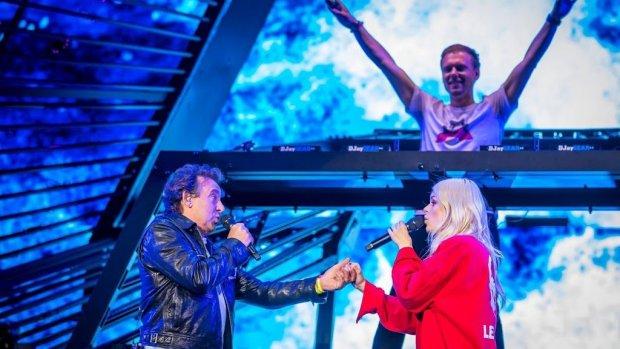 Marco, Armin en Davina scoren hit in Vlaanderen