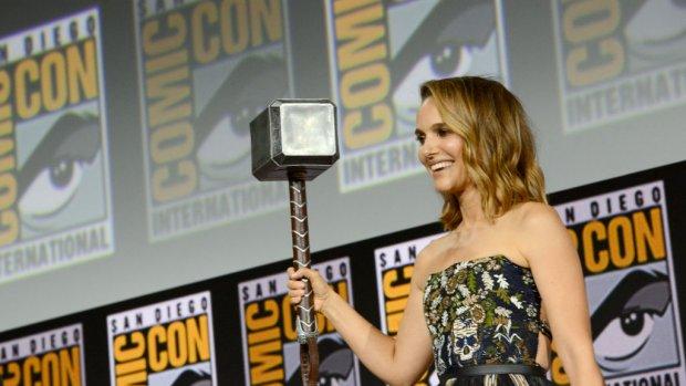 Natalie Portman gaat vrouwelijke Thor spelen
