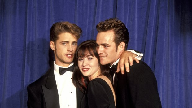 90210-Shannen Doherty brengt ode aan Luke Perry in Riverdale