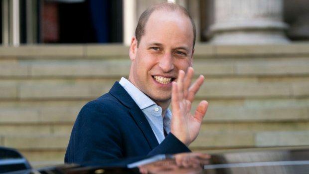 Britse leger deelt superzoete foto prins William en kindjes