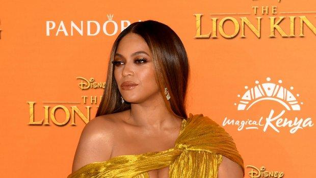 Huh? Beyoncé gefotoshopt op castfoto The Lion King