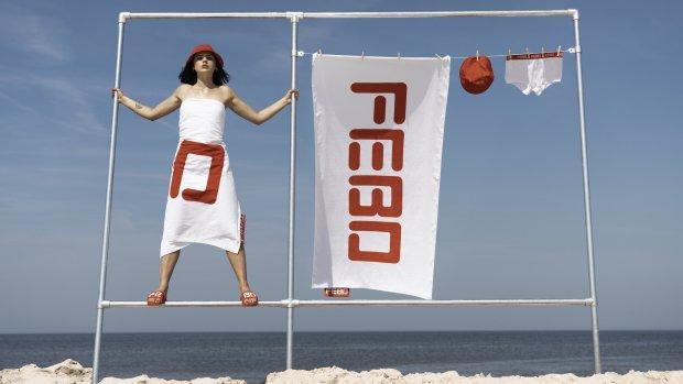 Famke Louise gezicht van allerlaatste FEBO-fashionlijn
