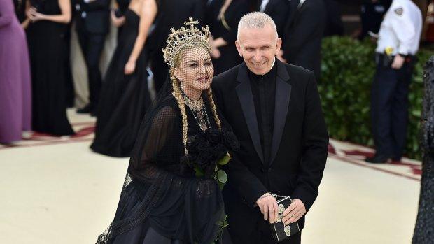 Jean-Paul Gaultier had stiekem een oogje op Madonna