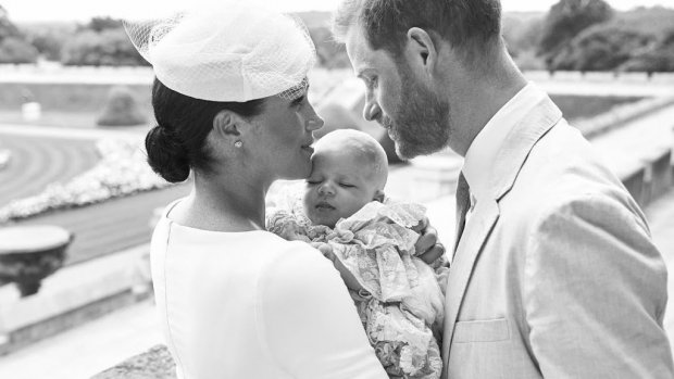 Meghan Markle geeft baby Archie plek in Britse Vogue