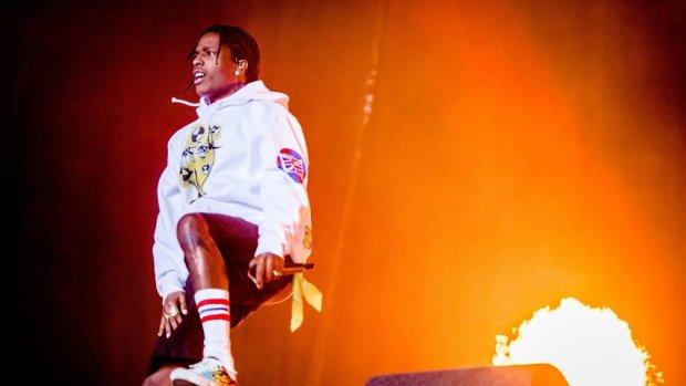 Gekte op Lowlands bij optreden A$AP Rocky