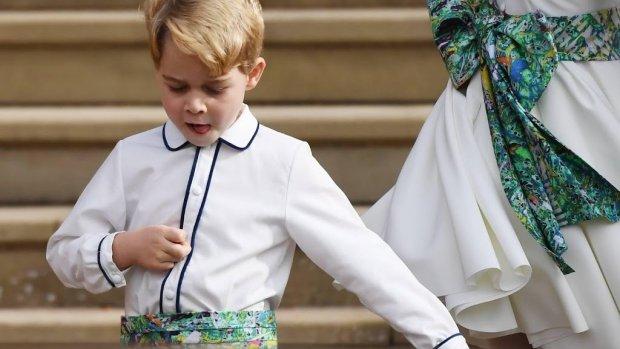 Presentatrice zegt sorry voor uitlachen prins George