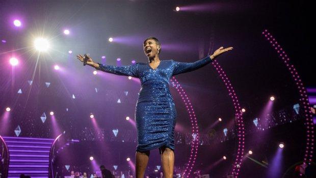 Edsilia Rombley treft voorbereidingen voor songfestival