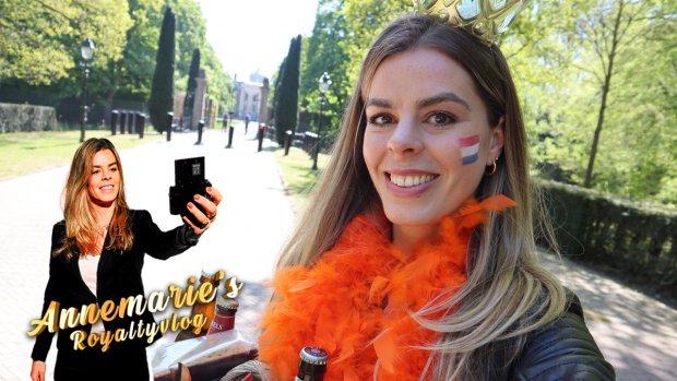 Annemarie's Royaltyvlog: koekhappakket voor de koning op Koningsdag