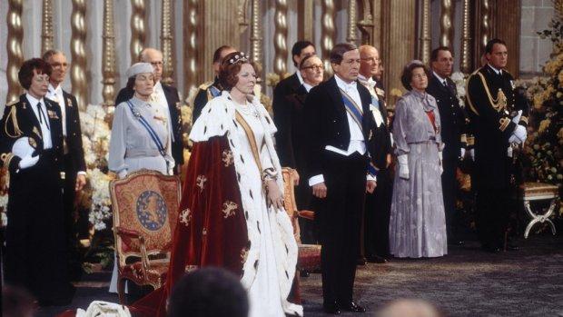 Precies 40 jaar geleden: de inhuldiging van prinses Beatrix