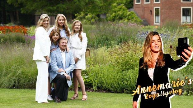 Annemarie's Royaltyvlog: 'Prinsesjes niet altijd makkelijk'