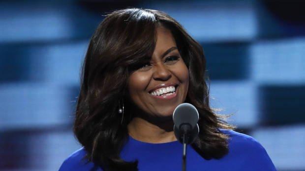 Michelle Obama gaf moederlijk advies aan Meghan Markle