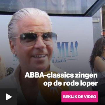ABBA-classics zingen op de rode loper