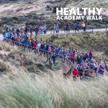 Healthy Academy Walk 2019