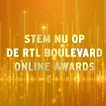 Stem op de RTL Boulevard Online Awards