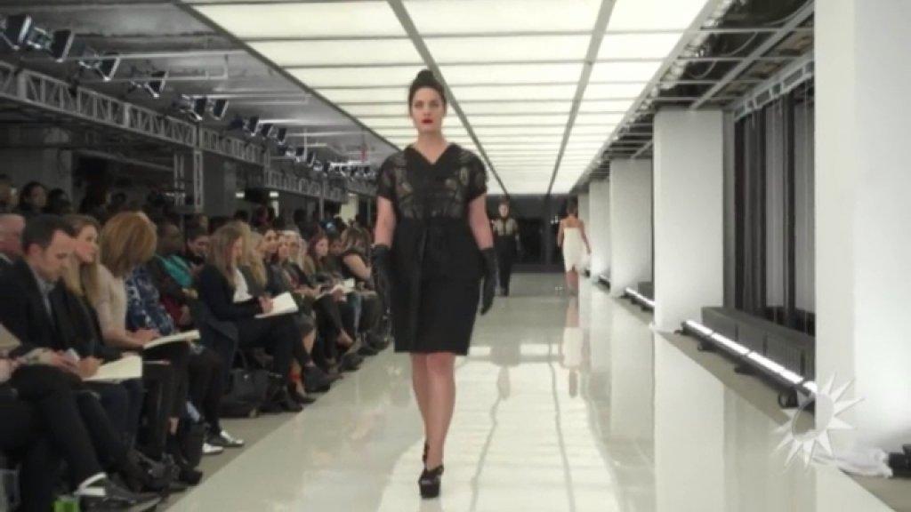 Video: Nederlands plussize model op Fashion Week
