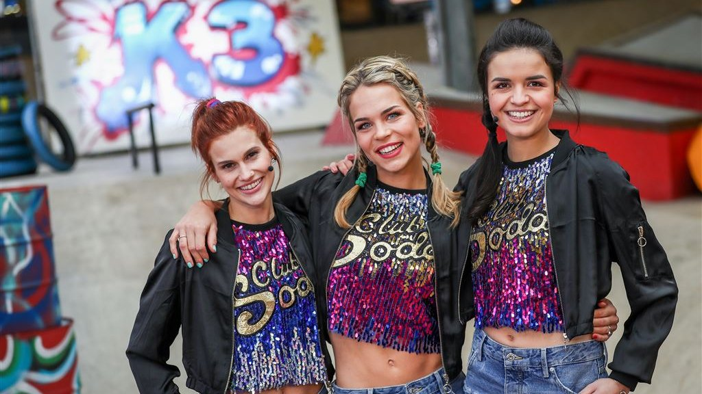 Nieuwe meiden K3 maken filmdebuut | RTL Boulevard