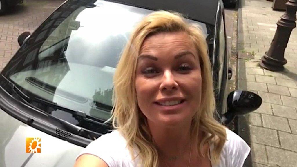 Blije Bridget Maasland: Auto is terecht!