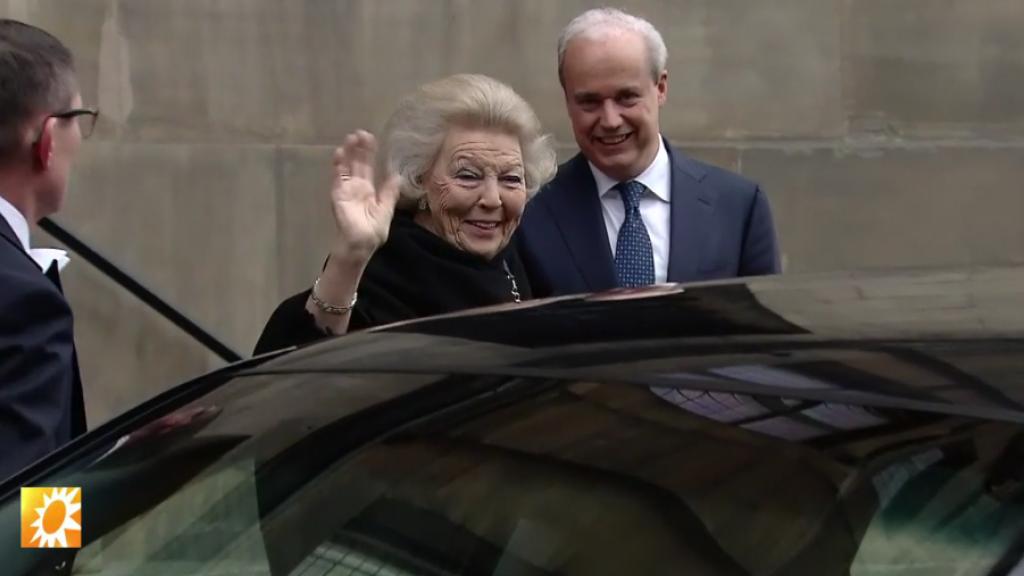 Verjaardagsfeest prinses Beatrix
