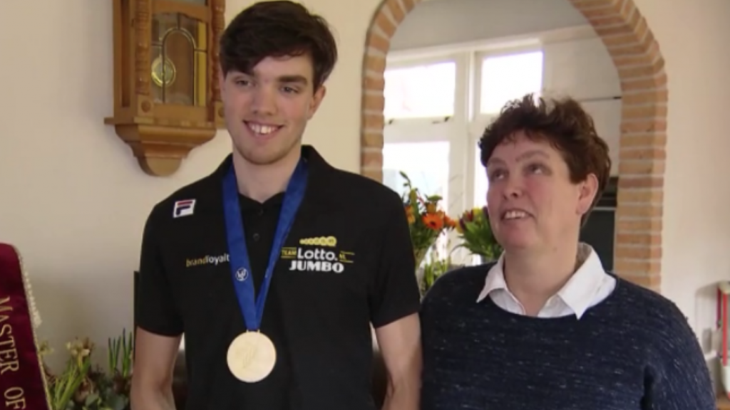 Patrick Roest super blij met gouden medaille