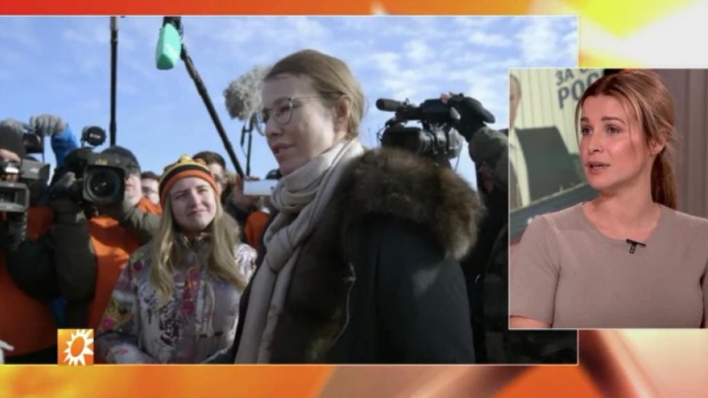 Victoria Koblenko volgt tegenstander Poetin op de voet