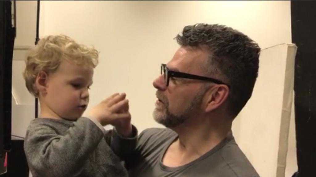Lief: zoontje William Rutten kijkt uit naar baby