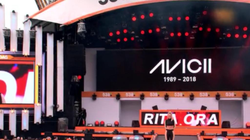 Emotioneel eerbetoon Avicii tijdens 538Koningsdag