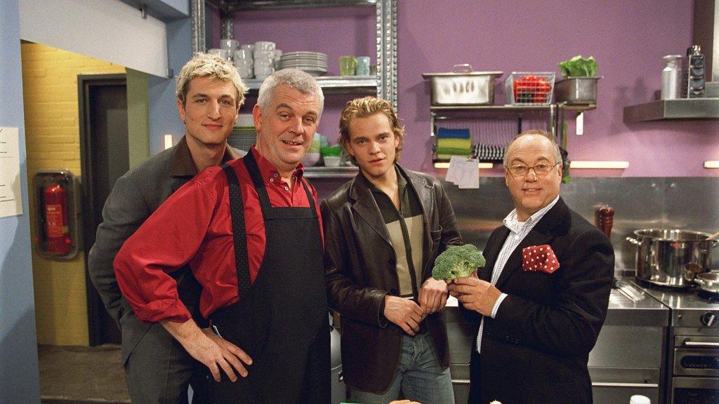 Olaf, JP, Daan en Joop Braakhekke