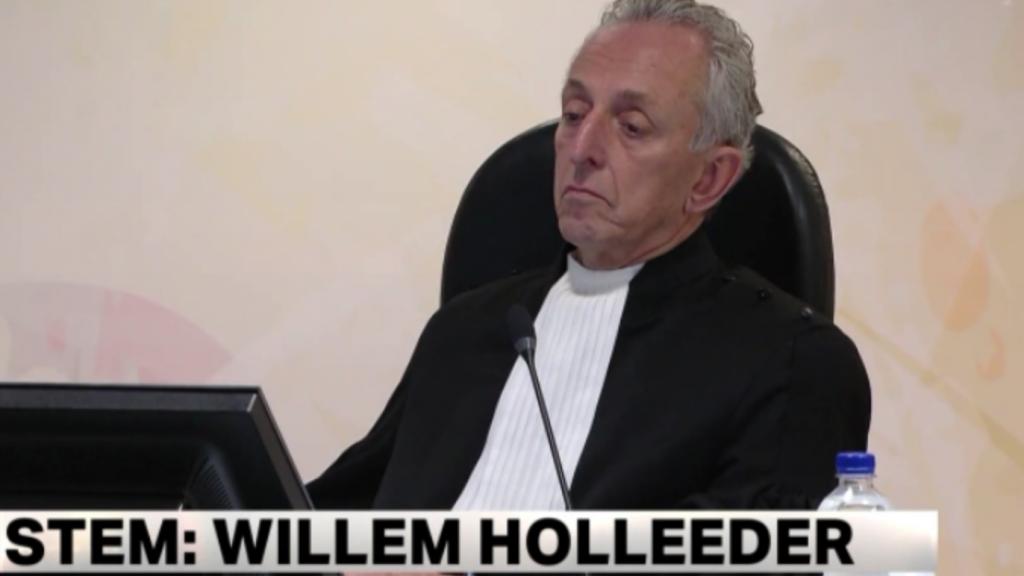 Willem Holleeder boos op Peter R. de Vries
