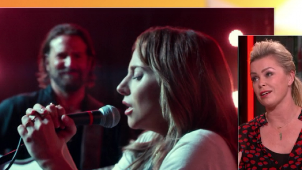 Bridget Maasland pinkt traantje weg bij Lady Gaga-film