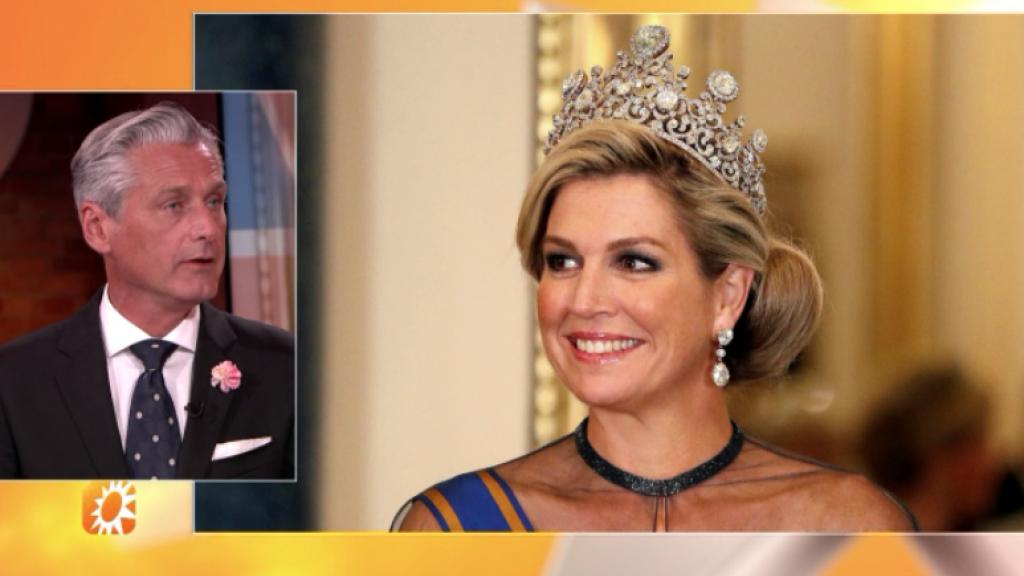 Koningin Máxima steelt de show tijdens staatsbanket op Buckingham Palace