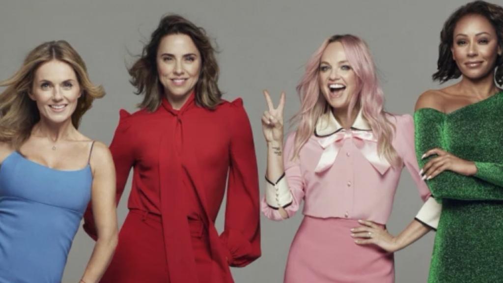 De Spice Girls gaan weer op tournee