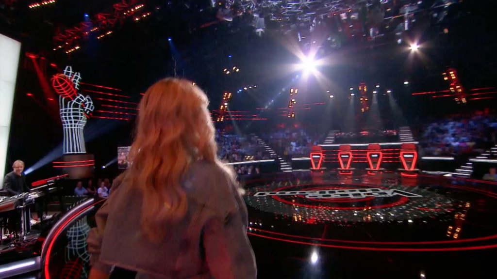 Runner-up Idols probeert het bij The voice of Holland