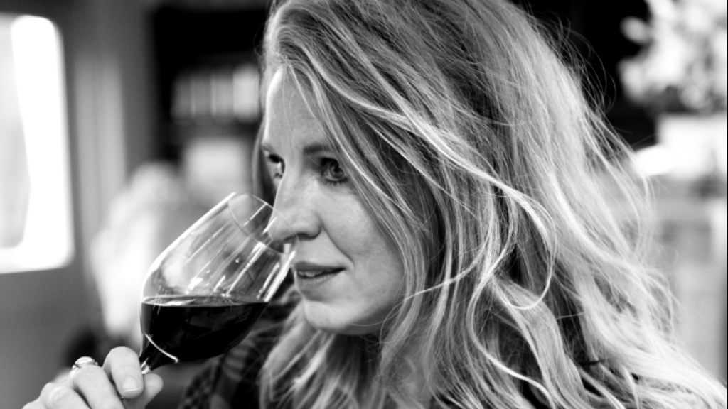 Wijndeskundige Esmee Langereis.