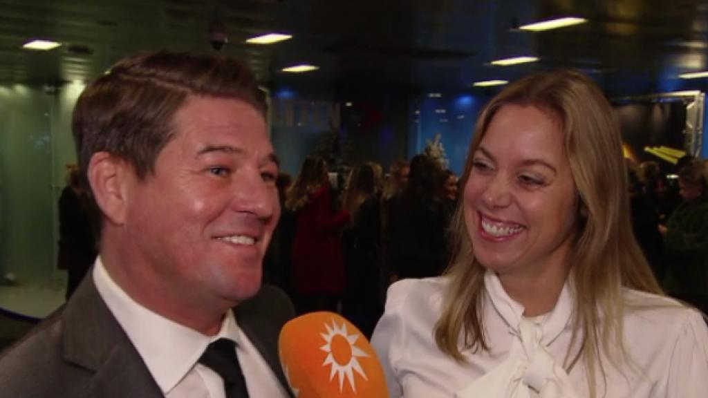 Verloofde Martijn Krabbé had aanzoek totaal niet aan zien komen