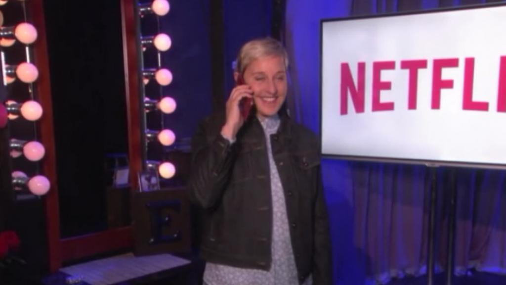 Ellen DeGeneres terug op de planken als stand-up comedian