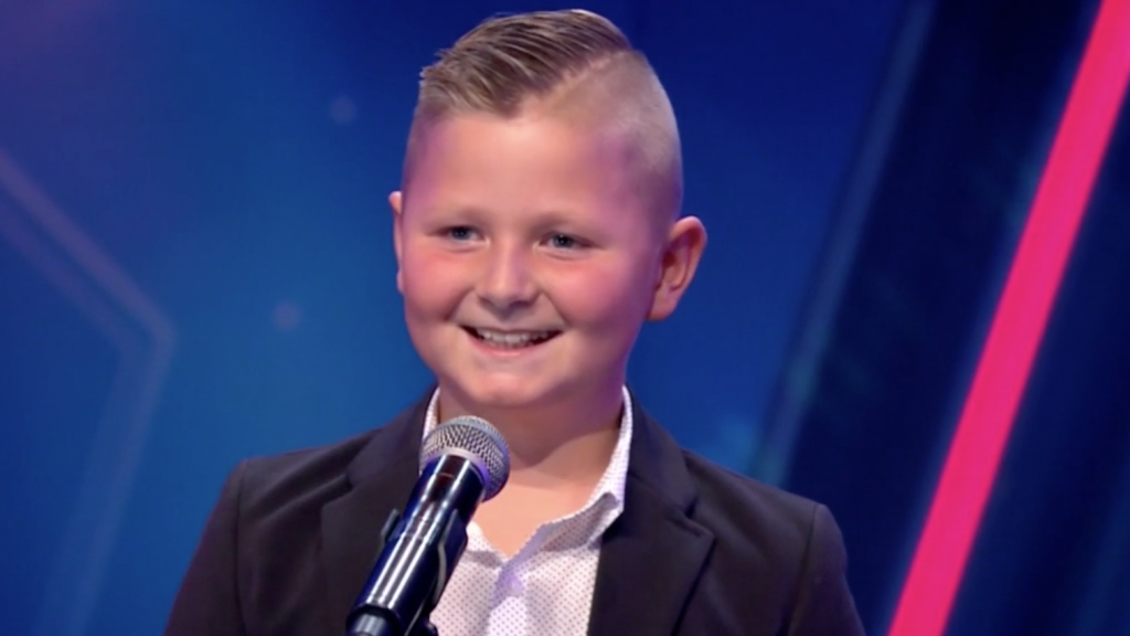 Pietje steelt de harten van de Holland's Got Talent-jury