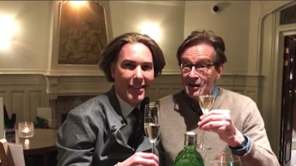 Frank en Rogier reageren op huwelijkscrisis