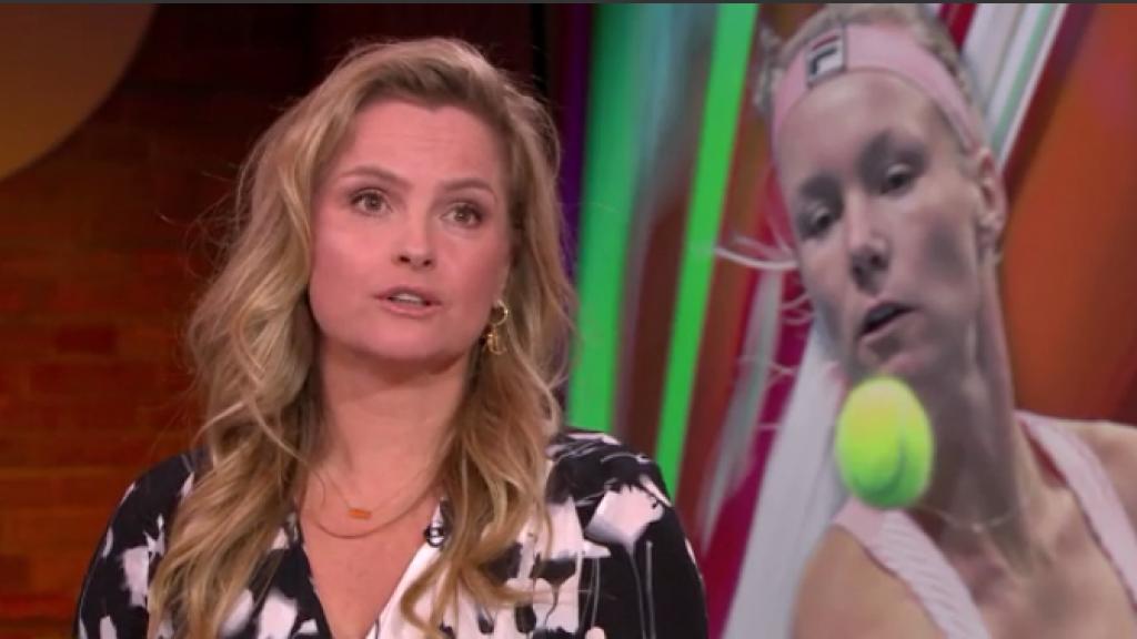 Kiki Bertens tennist zich door finale