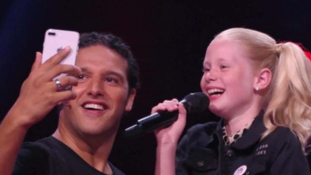 The Voice Kids-talent zet Ronnie Flex op zijn plek