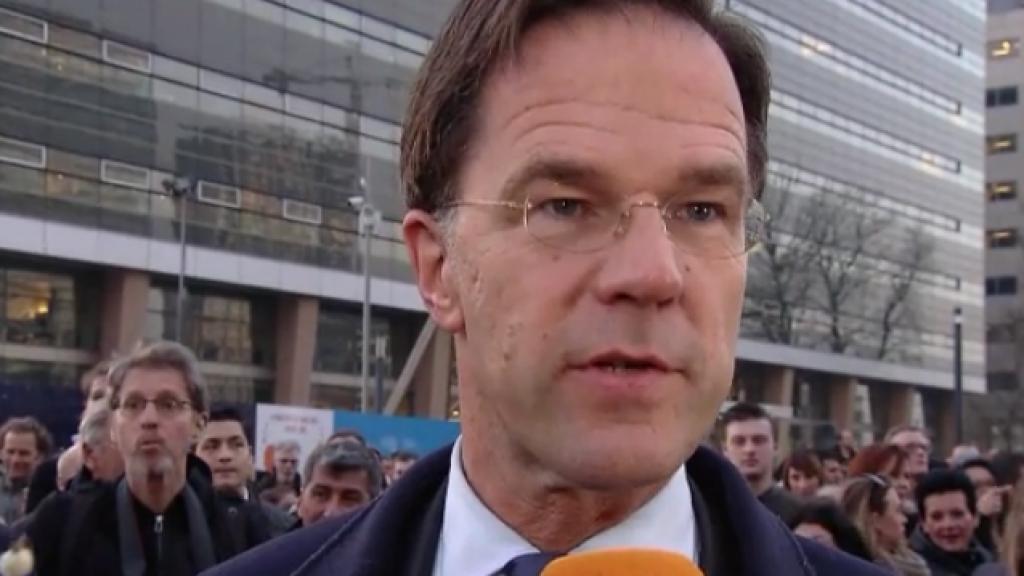 Mark Rutte: 'Heel mooi dat we dit zo doen'