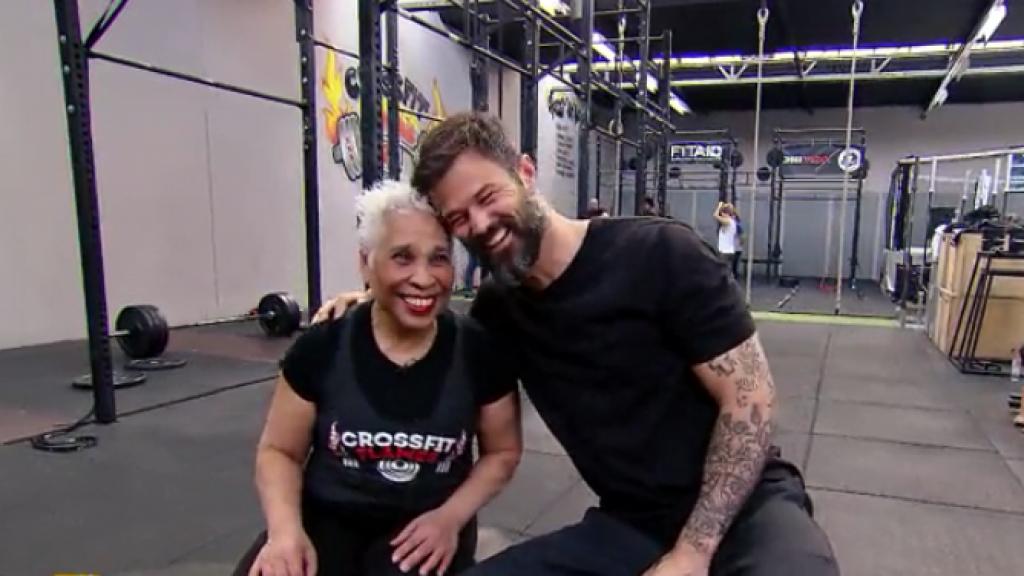 Arie Boomsma zet zich in voor fitte granny's