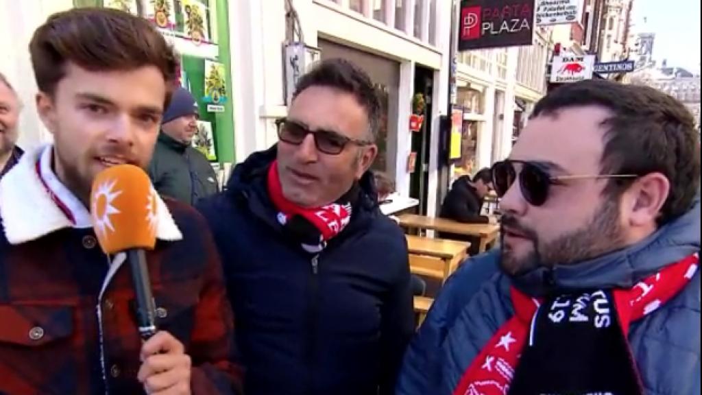 Buddy Vedder voelt Juventus-fans aan de tand